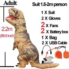 adults t-rex inflatable dinosaur costume