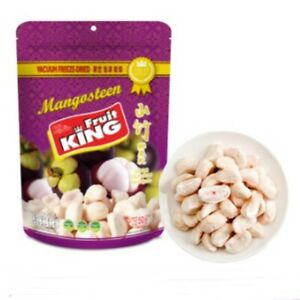 Mangosteen natural Thai fruit vacuum freeze dried snack tasty healthy Halal 50 g