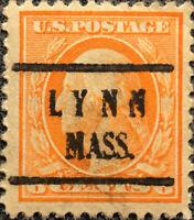 Scott #506 US 1917 6 Cent Washington Precancel Postage Stamp Perf 11