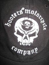 Black Hooters Motorcycle Company Baseball Cap/Hat Embroider Logo