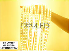 Striscia LED Strip Calda 2900k 5mt smd 5050 Chip EPISTAR 300 LED Alta Luminosità
