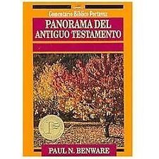 Panorama del Antiguo Testamento Comentario Bblico Portavoz Spanish Edition
