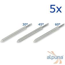 5 Plottermesser für ROLAND - 30° ALPUNA Qualitätsmesser