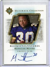 MEWELDE MOORE Vikings 2004 Ultimate Collection Auto RC /250 SP Autograph Rookie
