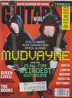 FEB 2003 GUITAR WORLD vintage music magazine MUDVAYNE