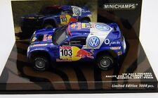MINICHAMPS 1/43 VW TOUAREG 4X4  2005 winners saby serie limitée 1008 exemplaires
