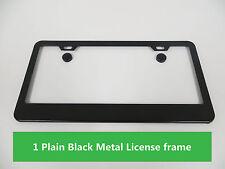 PLAIN BLACK METAL Blank CAR LICENSE PLATE FRAME HOLDER for jeep models