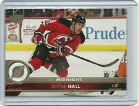 2017-18 Upper Deck  Midnight Taylor Hall 10/25 - New Jersey Devils