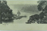 .RARE SYDNEY , MOSMANS BAY 1910 POSTCARD ,  NEW SOUTH WALES
