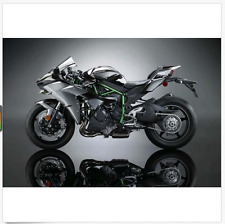 Us 1:18 1/18 Kawasaki H2R Motorcylce Diecast Maisto Model w/Removable Base
