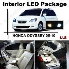 White LED Lights Interior Package Kit for Honda Odyssey 2005-2010 ( 13 Pcs )