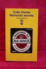 Remords secrets - Colin Dexter - Livre - Occasion