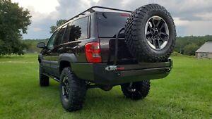 Jeep Grand Cherokee WJ Rear Steel Custom Bumper w/Tire
