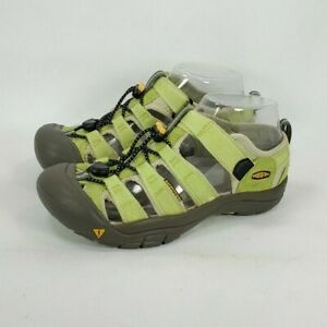 KEEN Newport Waterproof Sport Water Sandal Youth Size 4 9212-OPGN Green