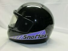 Vintage VECTOR - SNOMAX Full Face Snowmobile Helmet. Size X-Large