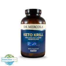 Dr. Mercola Keto Krill With Choline & Serine Phospholipids 60 Capsules