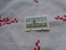 Automatenbriefmarke, Berlin, postfrisch höchster Wert 9995