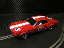 PIONEER SLOT CAR NEW UNBOXED '68 TRANS-AM MUSTANG TONY MARCOTTI - SCALEXTRIC DPR