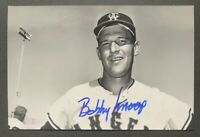 BOBBY KNOOP MLB Los Angeles Angels Baseball Auto Autographed Signed 4x6 Photo 1