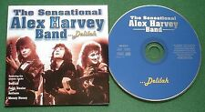 The Sensational Alex Harvey Band Delilah inc Anthem & Money Honey + CD