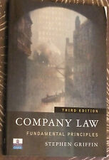 Company Law: Fundamental Principles by Stephen M. Griffin (Paperback book, 2000)
