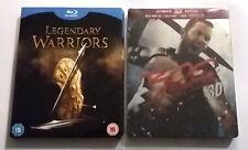 Lot Blu-ray : Coffret 4 films LEGENDARY WARRIORS + 300 : RISE - Ed. Steelbook 3D