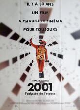 2001 A SPACE ODYSSEY - KUBRICK - RARE REISSUE LARGE FRENCH MOVIE POSTER