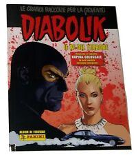 Diabolik Il Re del Terrore Album Vuoto Panini