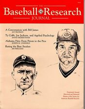 1985 SABR Baseball Research Journal #14 (88 pages) TY COBB ~ PETE ROSE