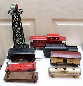 Vintage Lot of O/O27 Lionel/American Flyer - Parts/Restoration - Non-Working