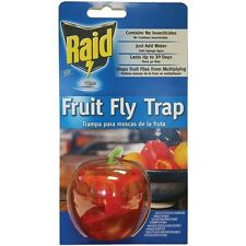RAID FFTA-RAID Apple Fruit Fly Trap, No insecticides, Just add Water and Soap