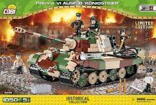 COBI Tiger  PzKpfw VI Ausf B Königstiger 2539 / 1050 German tank Limited Edition