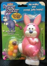 Funny Bunny: Wind him up, he walks and poops jelly beans! Easter - Sealed (pink)