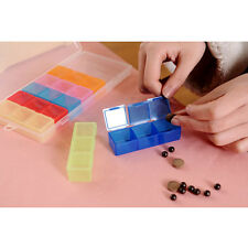 Weekly Pill Box Medicine Medical Drug Case Caddy Storage Organiser Holder JP