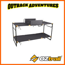 OZTRAIL DELUXE DOUBLE BUNK BED CAMPING BEDDING BRAND NEW MODEL