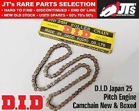 DID 25 x 100 CAMCHAIN CAM CHAIN CAM TIMING HONDA XR200 RD/RE (80-84) PATTERN