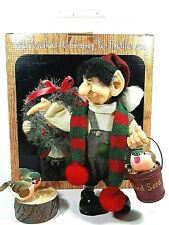 Zims The Elves Themselves Donatello Christmas Elf Figure Feeding Birds 1999