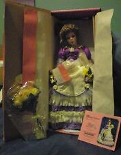"Paradise Galleries ROSE Doll 17"" Women of the Old West Treasury Collection Music"