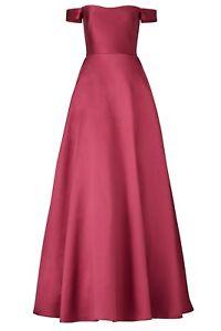 ML Monique Lhuillier Womens Gown Size 18 Raspberry Romance Gown $595