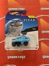 Bruce Finding Nemo  Pixar 2021 Hot Wheels Disney Animation Character Cars Mix R