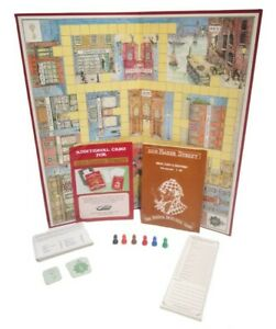 221B Baker Street The Master Detective Vintage Game 1975 Gibsons Complete