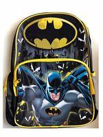 Batman Backpack DC Comics School PreSchool Daycare Bag New Boys Kids Super Heros