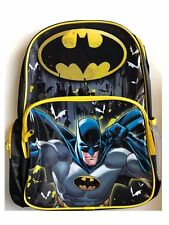 Batman Backpack DC Comics School PreSchool Daycare Bag New Boys Kids Super Heros