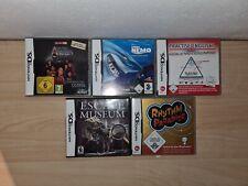 Nintendo DS Spiele Sammlung - Games Set - Findet Nemo   Rhythm Paradise   ...