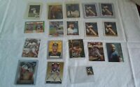 Lot of 19 Kirby Puckett Baseball Cards Topps Fleer Score Upper Deck 80s 90s HOF