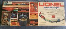 Lionel 6-1383 Santa Fe Freight Set - Vintage