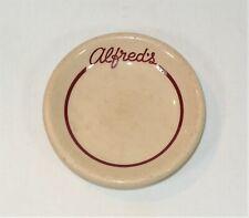 ALFRED'S STEAKHOUSE Restaurant Ware Butter Pat San Francisco California