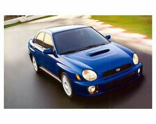 2002 Subaru Impreza WRX Automobile Photo Poster zc9860