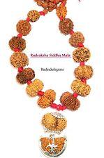 Rudraksh Siddha Mala / Siddha Combination / 1 till 14 Mukhi Rudraksha - Nepal