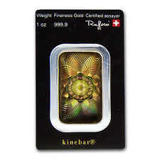 1 oz Gold Bar - Argor-Heraeus KineBar Design (In Assay) - SKU #67496